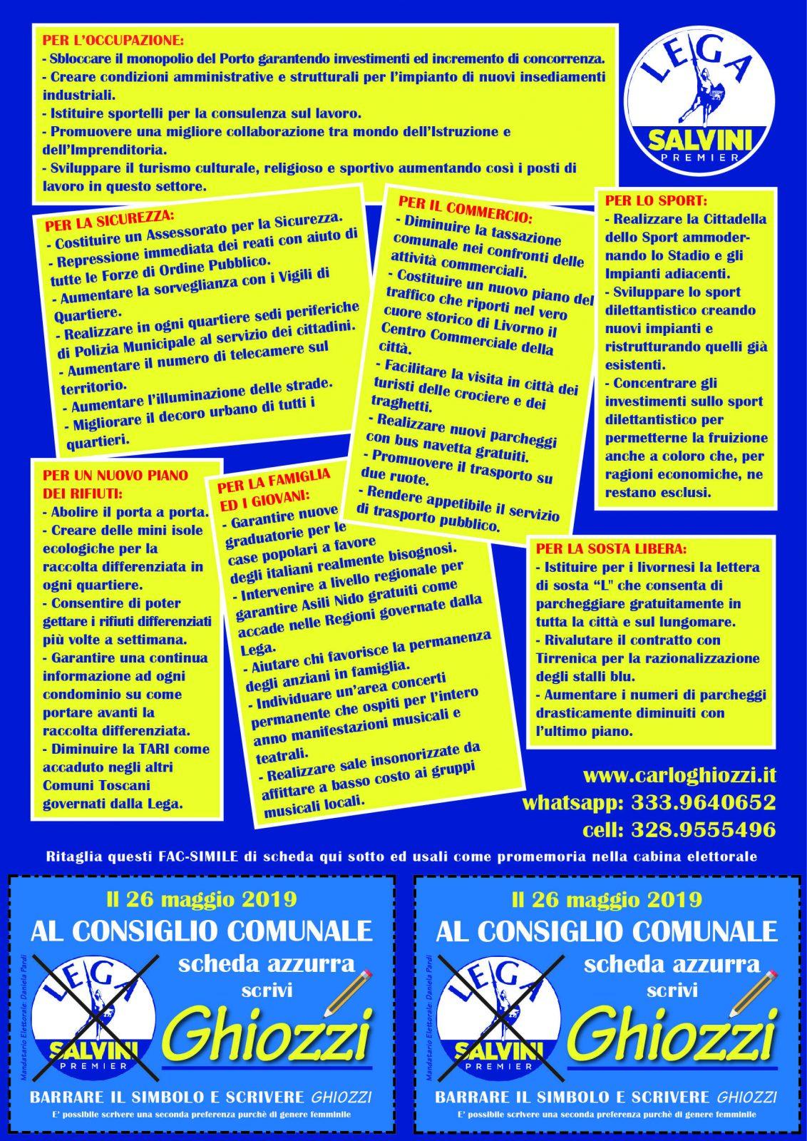 programma elettorale